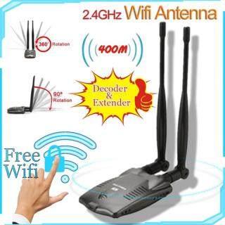 Mật Khẩu Nứt Internet Long Range Ăng Ten Wifi Kép Bộ Giải Mã Bộ Điều Hợp Wifi Usb thumbnail