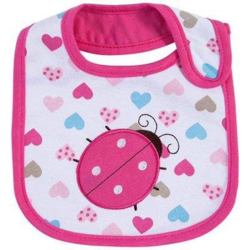 Sweet Cartoon Waterproof Soft Babies Bib Singapore
