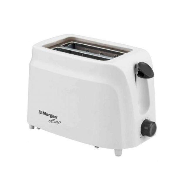 Morgan Toaster Slice Toaster with Cover MTS-22C-White