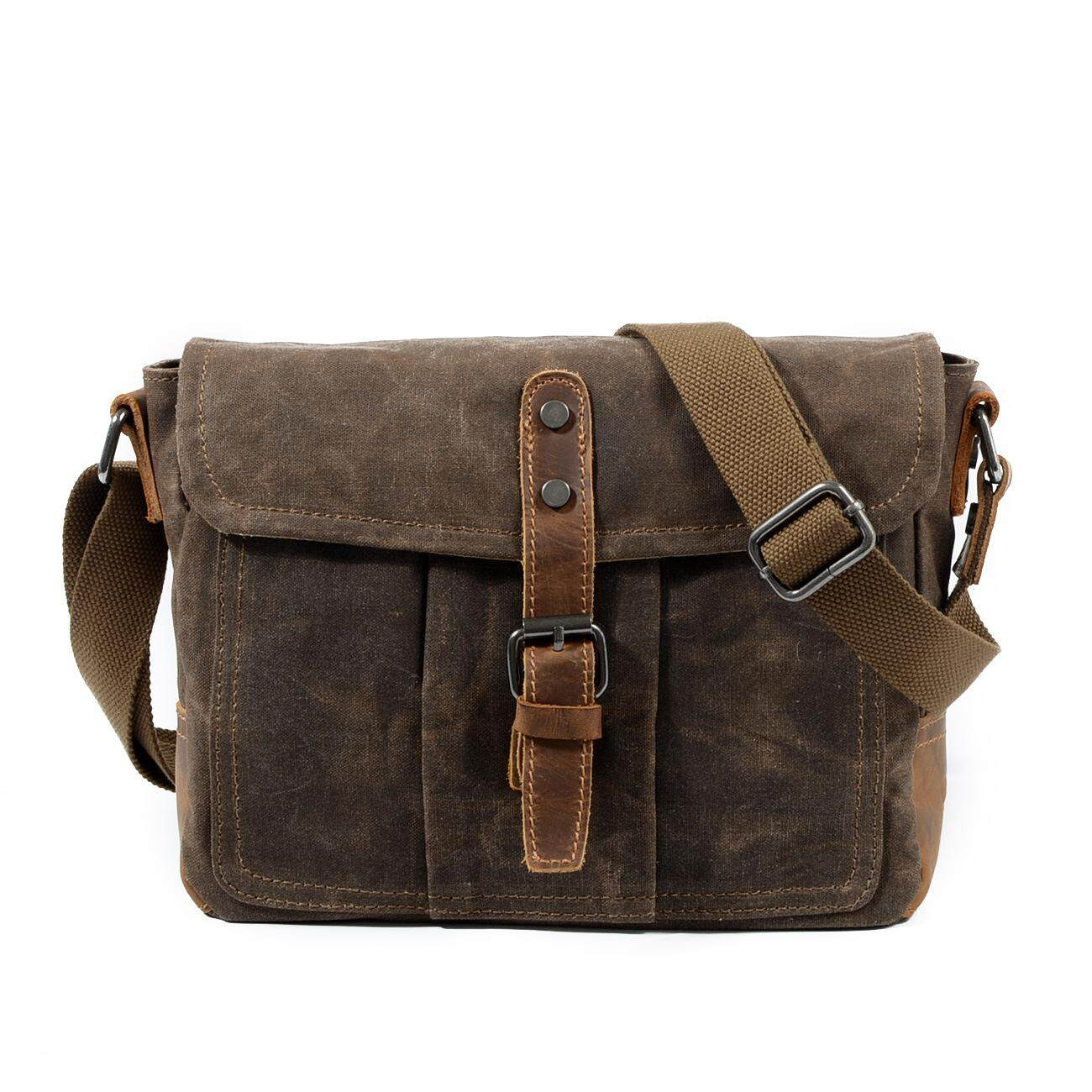 a68a87e65e7e New Messenger Bag Casual Canvas Men s Bag Shoulder Bag Men Simple Men  Messenger Bag Waterproof Men Bag Cross