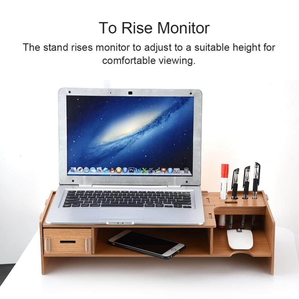 Hình ảnh 2-level Desktop Monitor Stand Organizer Desktop Items Storing for TV/Monitor