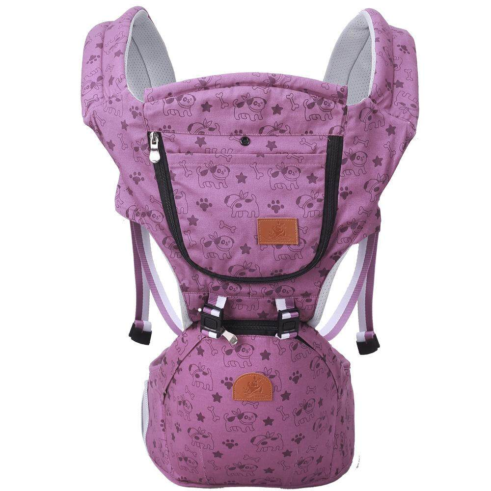 Fitur Breathable Multifunctional Baby Soft Carriers Hip Seat Moms Mbg2011 Gendongan Hipseat Lullaby Series Sling Wrap 360 Basket Backpacks Bag For