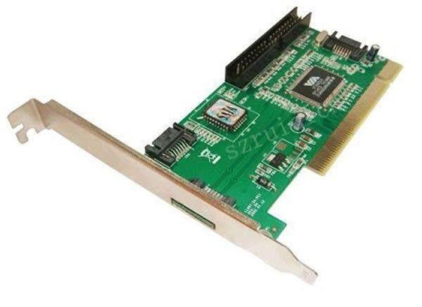 3 SATA + 1 Ide untuk PCI 32bit Kartu RAID Adaptor VIA6421 XBOX360