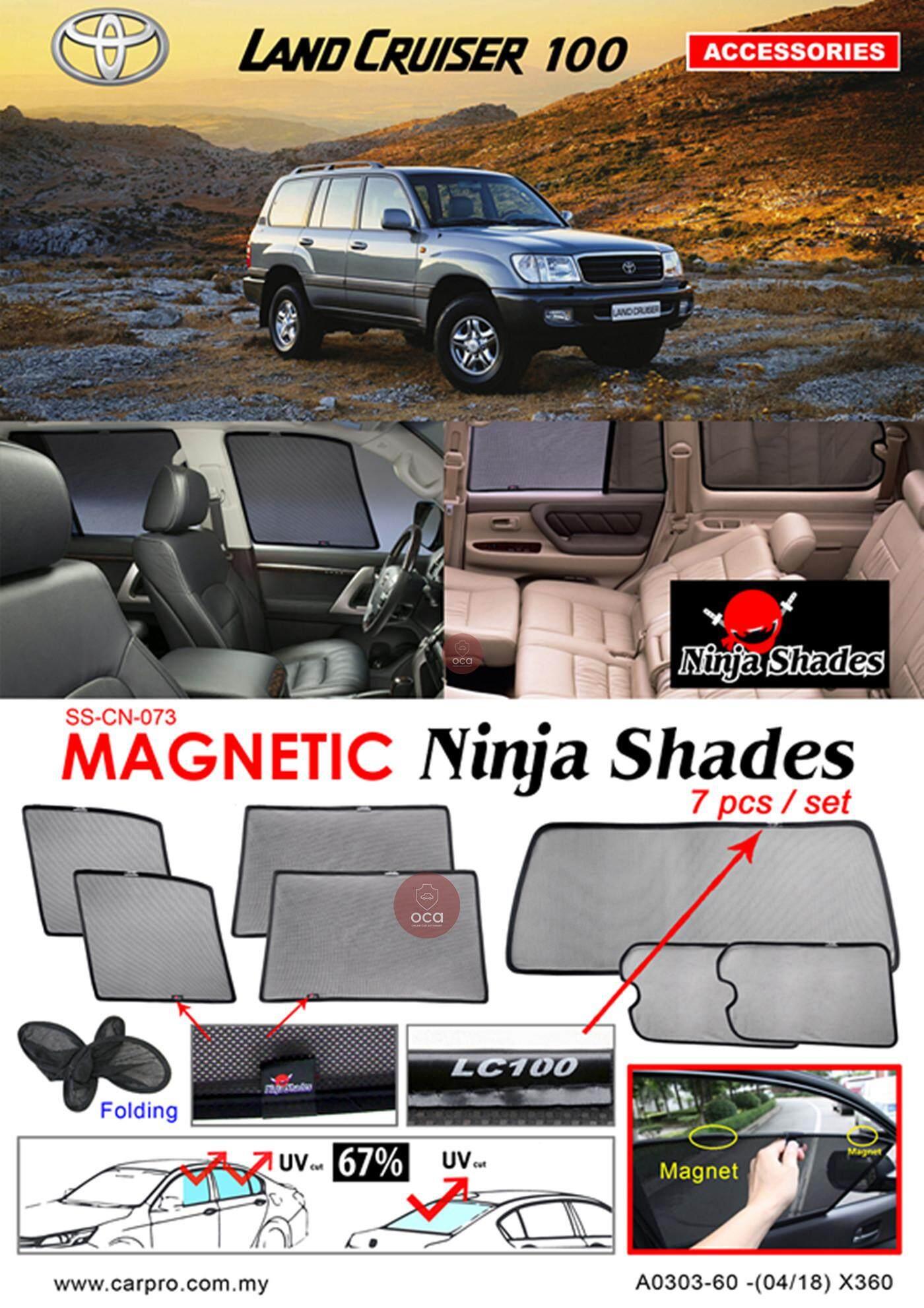 Toyota Land Cruiser LC100 Magnetic Ninja Sun Shade (7PCS)