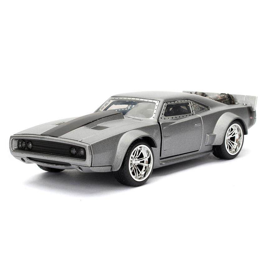 Jada Fast & Furious 8 1:32 DIECAST Dom's Dodge Ice Charger Car Silver Model
