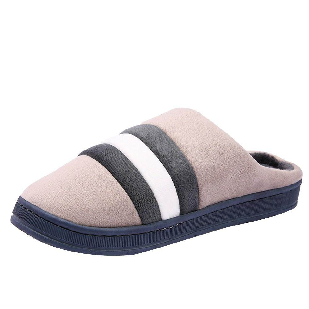 809c37f04c17 (Free Shipping) JENESTROTRESWoman s Cotton-Padded Home Slippers Indoor Shoes  Non-Slip Sole