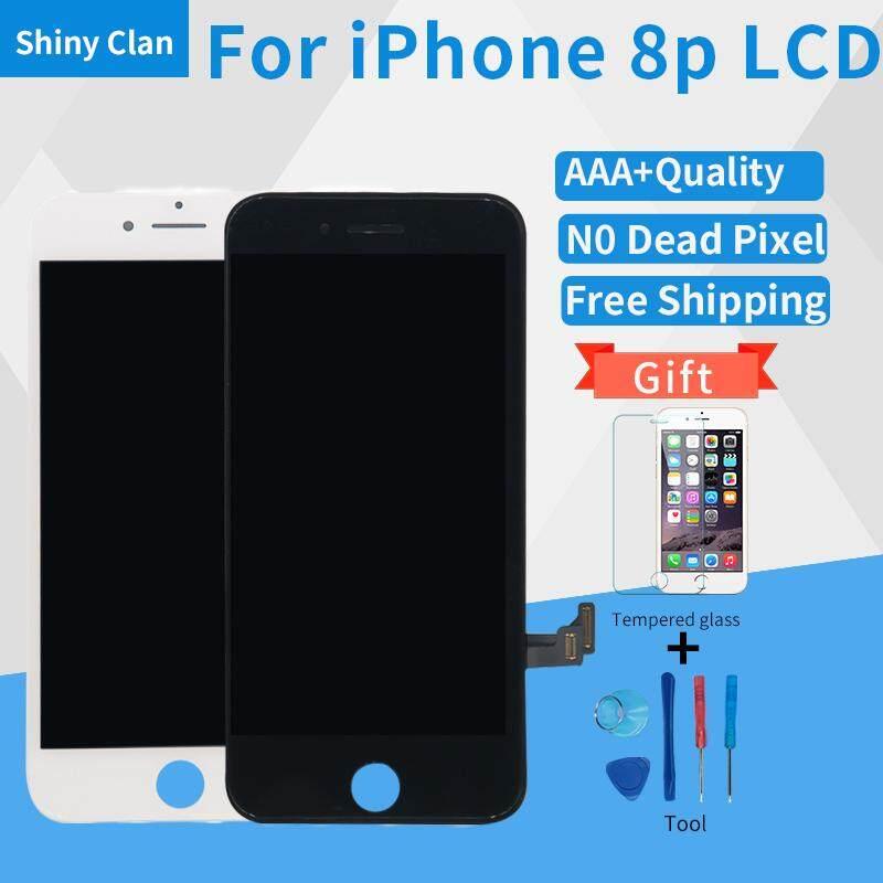Tidak Ada Pixel Yang Mati LCD untuk iPhone 8 PLUS LCD Layar Sentuh Digitizer untuk Telepon 8 Plus-Intl