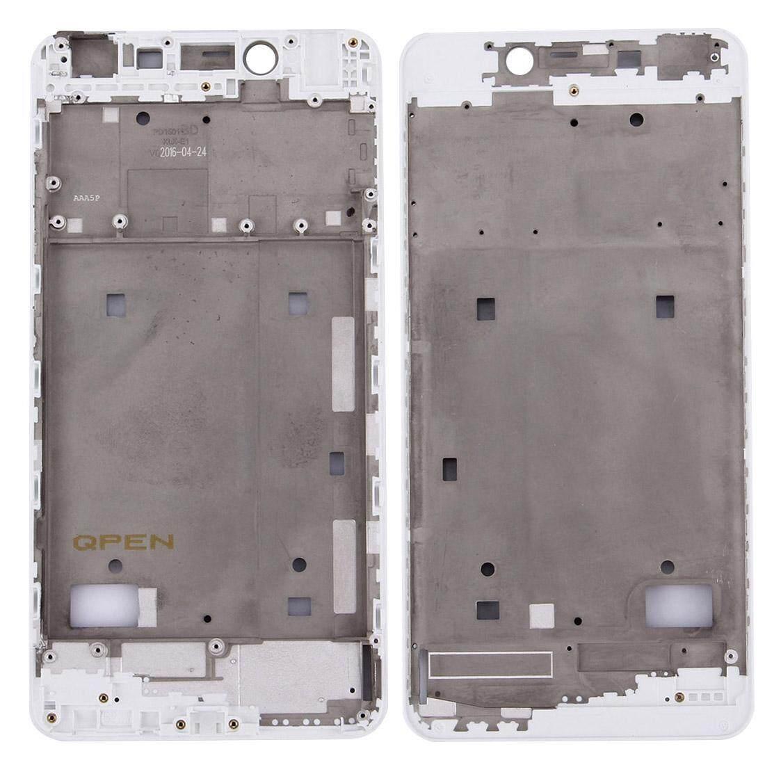 Vivo X6 Plus Hunian Depan LCD Bingkai Pelat Bezel (Putih)