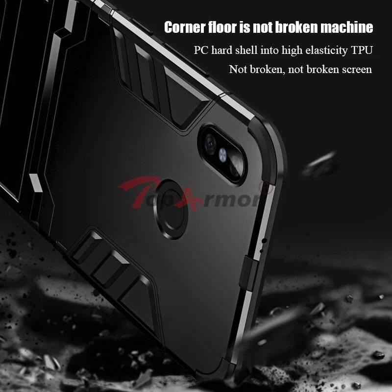 For Redmi Note 6 Pro Case Silicone Iron Man Armor Cover for Xiaomi .