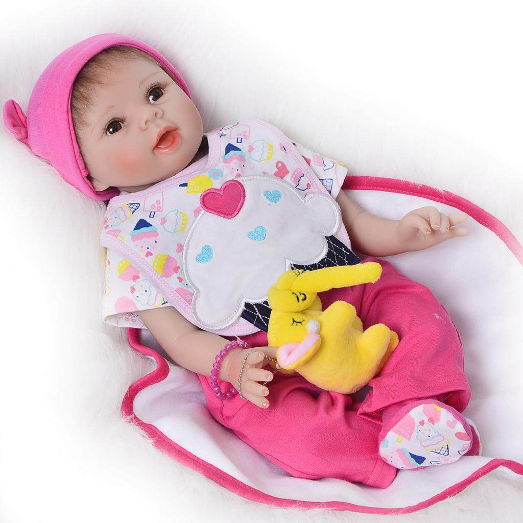 Bolehdeals Rompers Pants Socks Hat Suit For 22-23 Reborn Baby Girl Doll Clothes By Bolehdeals.