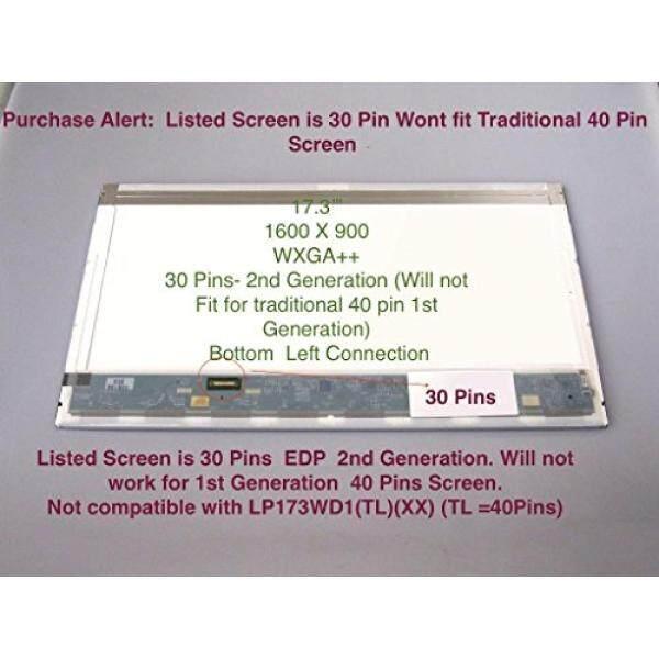 Laptop Layar Pengganti Chi Mei Innolux Corp N173FGE-E23 Rev. C1 17.3 WXGA + + LCD Berkilau Layar LED/Display-Intl