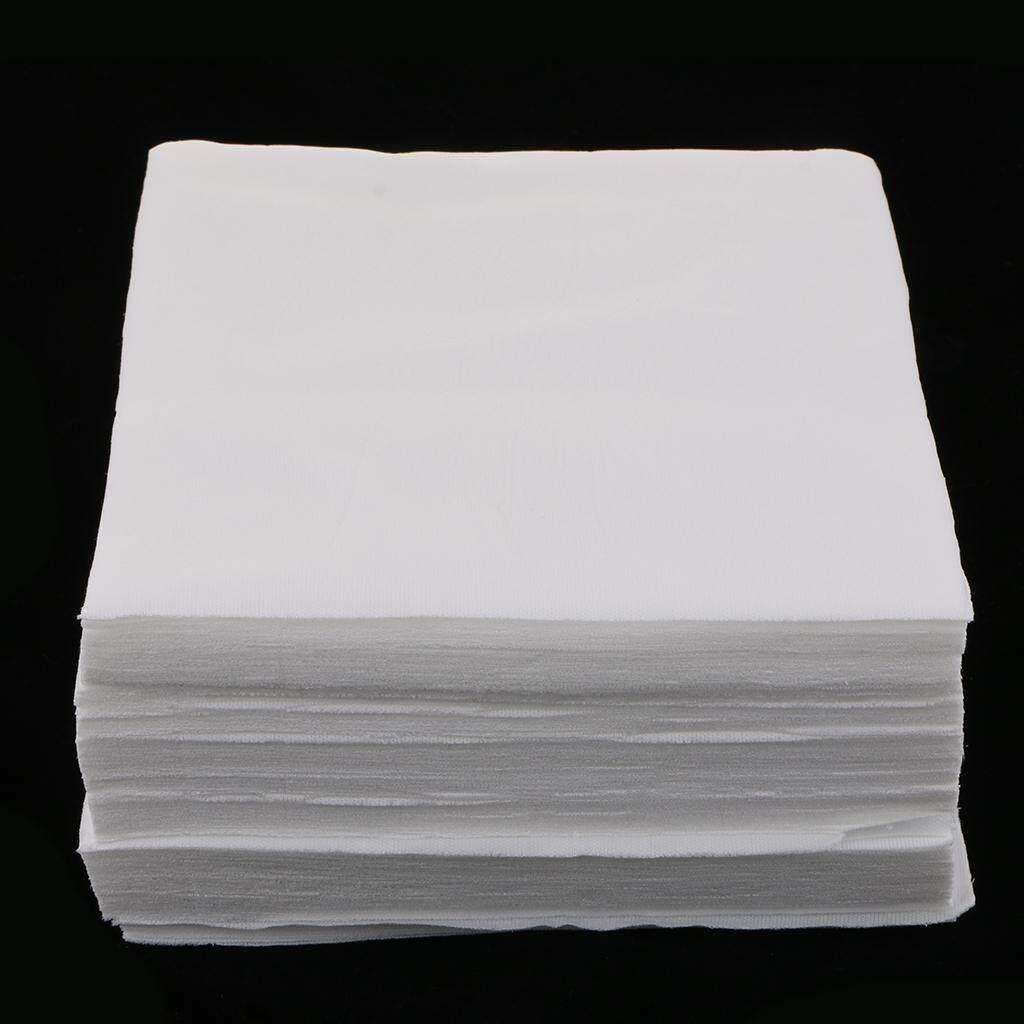 Magideal 150pcs Cleanroom Wiper Dustless Fiber Cloth Non-Woven White 15x15cm 6 By Magideal.