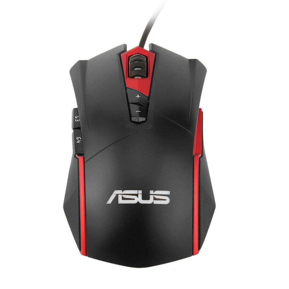 BELLE ASUS GT200 Gaming Mouse 4000DPI USB Wired Mechanical RGB Light Optical Mouse
