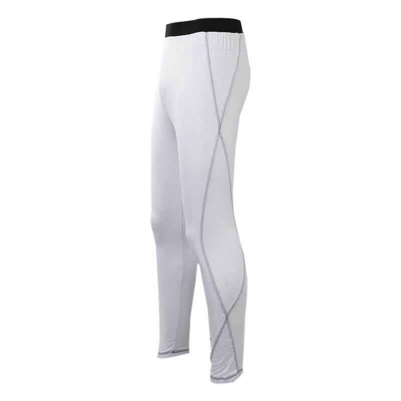 Ketat Pria Celana Olahraga Pria Olahraga Luar Ruangan Waktu Senggang Pelatihan Celana Panjang .