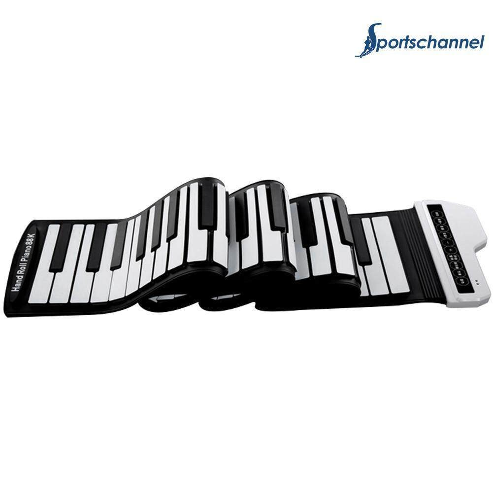 61 Keys Electronic Piano Keyboard Pad Portable Silicone Flexible Roll Up Piano