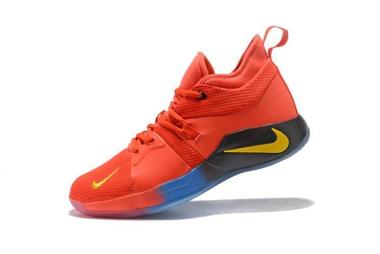 3d571dea135d Nike Original Paul George 2 Men Basketaball Shoe PG-13 White Black Gold  Sneakers