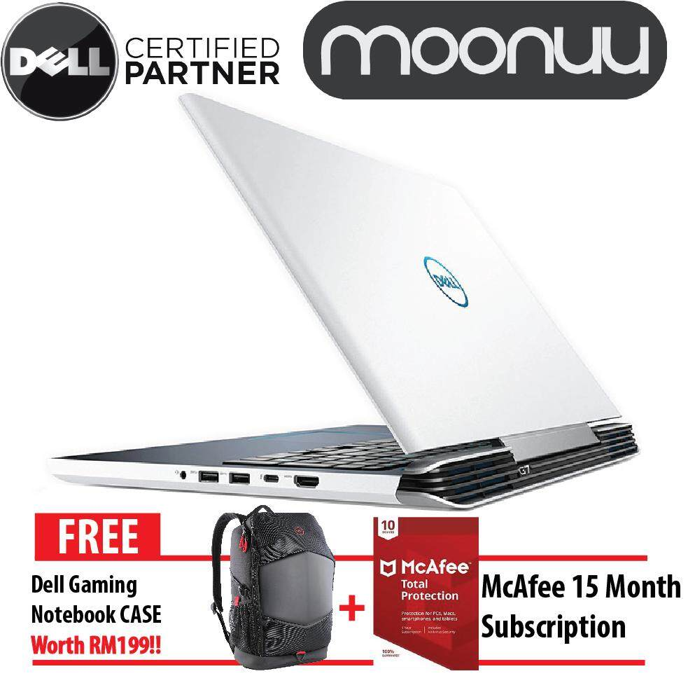 Dell Inspiron Gaming G7 7588 15 G7-87814GFHD-W10-1050Ti Black and White Notebook High Performence Laptop (Intel Core i7-8750H Up to 4.1GHz / 8GB DDR4 2666Mhz / 1TB + 8GB / 15.6 inch FHD /NVIDIA GTX 1050Ti 4G / W10) W56791804MYW10 Malaysia
