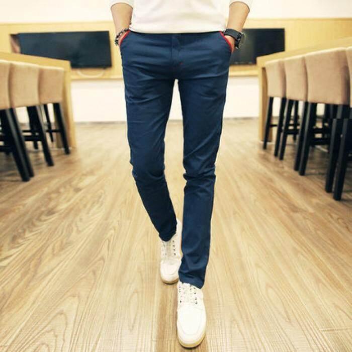[PRE-ORDER] Celana Panjang Pria Biru: Jual Beli Online Cino dengan Harga Murah-Intl