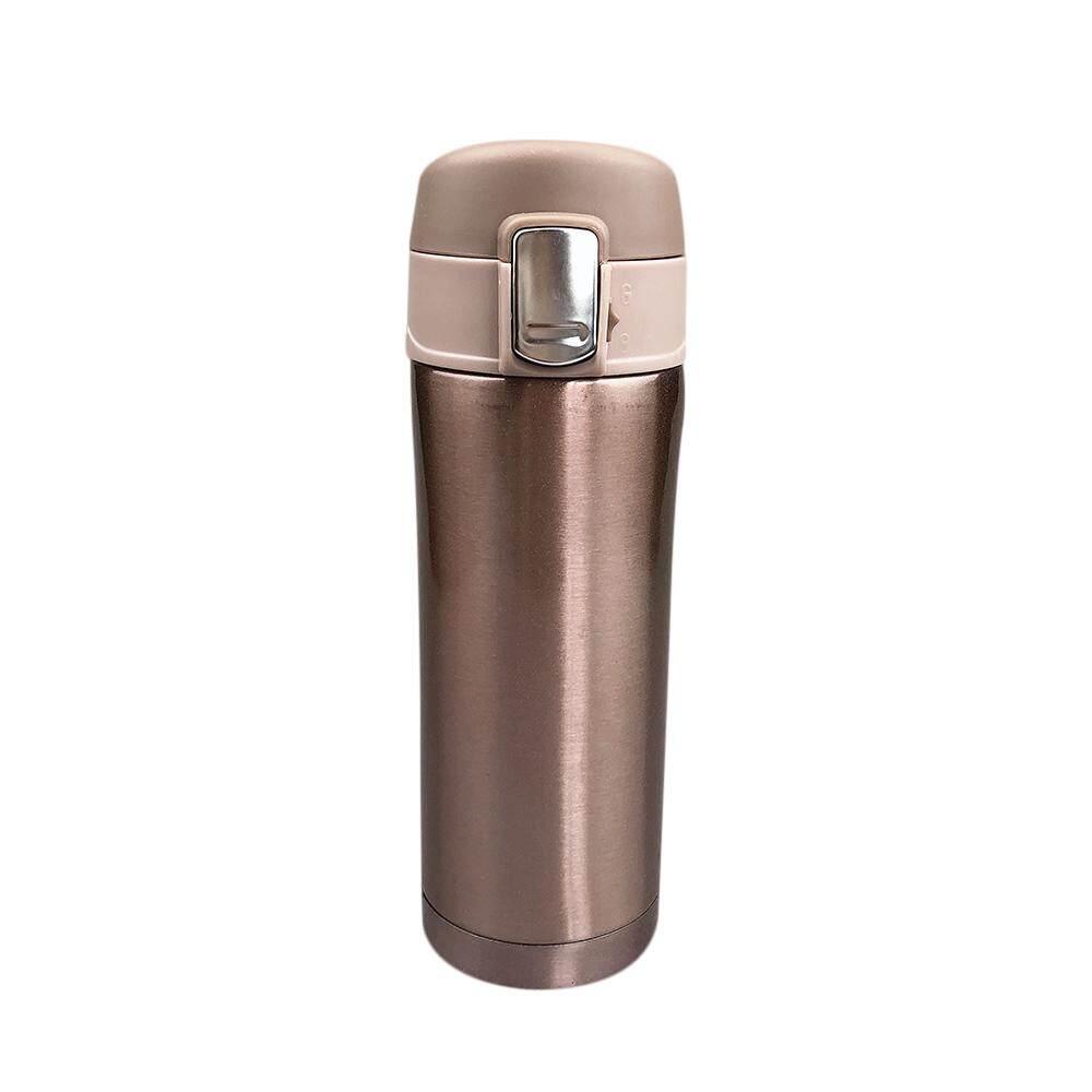 Buy Sell Cheapest 350ml Pink Teh Best Quality Product Deals Caaya Beras Sangrai Botol Box 12x350ml 350 Cangkir Bepergian Ml Kopi Air Portabel Termos Hitam