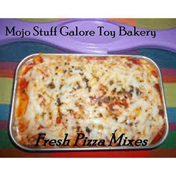 Easy Bake Ultimate Oven Mixes 3 Homemade Cheese Pizza Mixes with Italian Seasoning and Parmesan Cheese 6 Pizzas Total Easy Bake Oven Refills EZ - intl