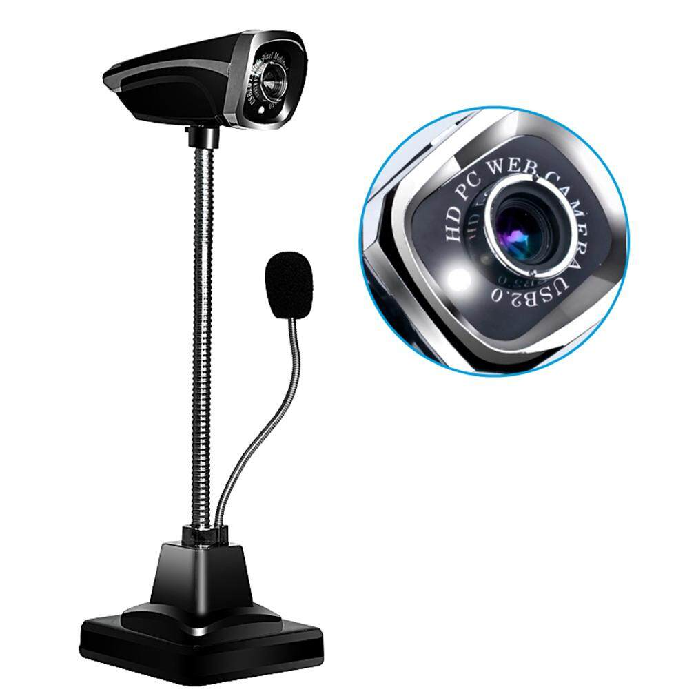 M800 USB 2.0 Wired Webcams PC Laptop Camera LED Night Vision With Microphone - intl