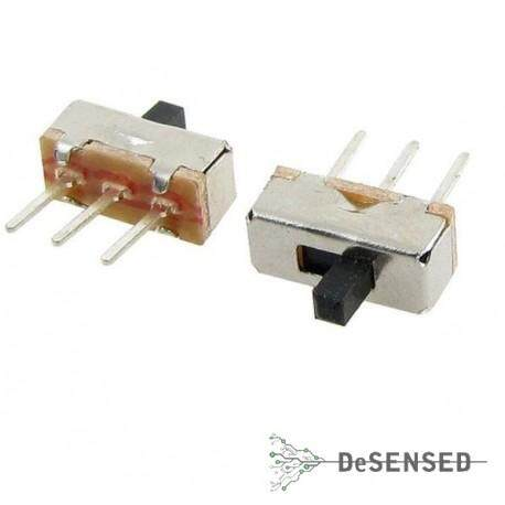 SS12D00G3 2 Position SPDT 1P2T 3 Pin PCB Panel Mini Vertical Slide Switch (5pcs) Malaysia