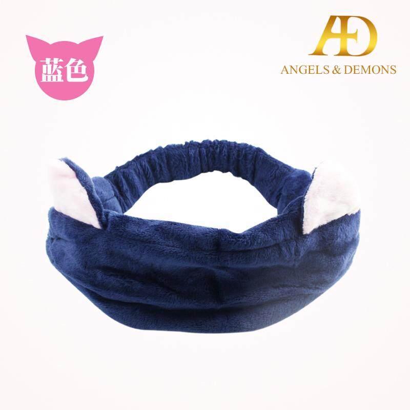 Pita pengikat rambut Model Korea Peralatan mandi Dandan telinga pita pengikat rambut bando masker wajah olahraga