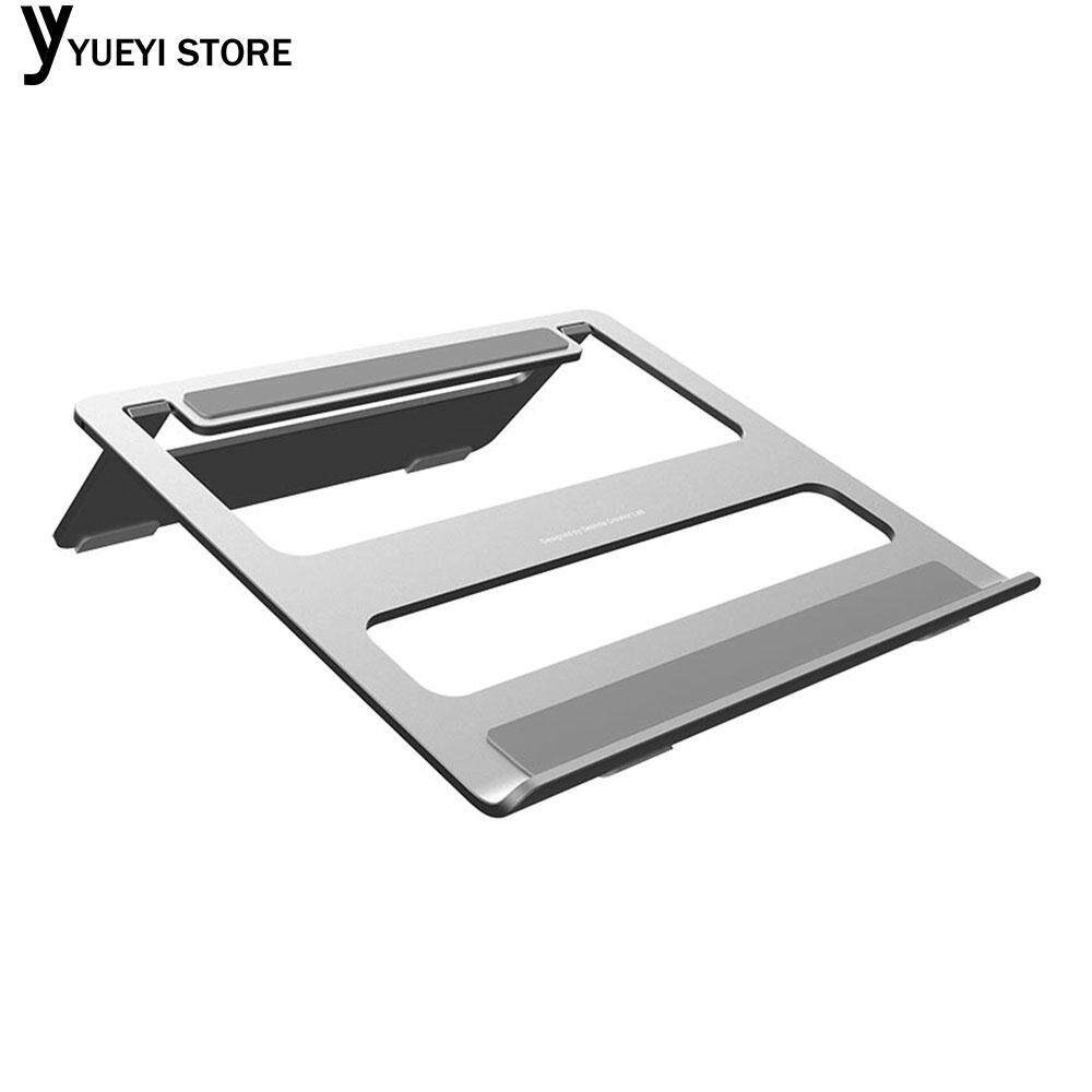 Hình ảnh Notebook Holder Notebook Support Laptop Stand Universal Portable Aluminum Alloy (Silver)