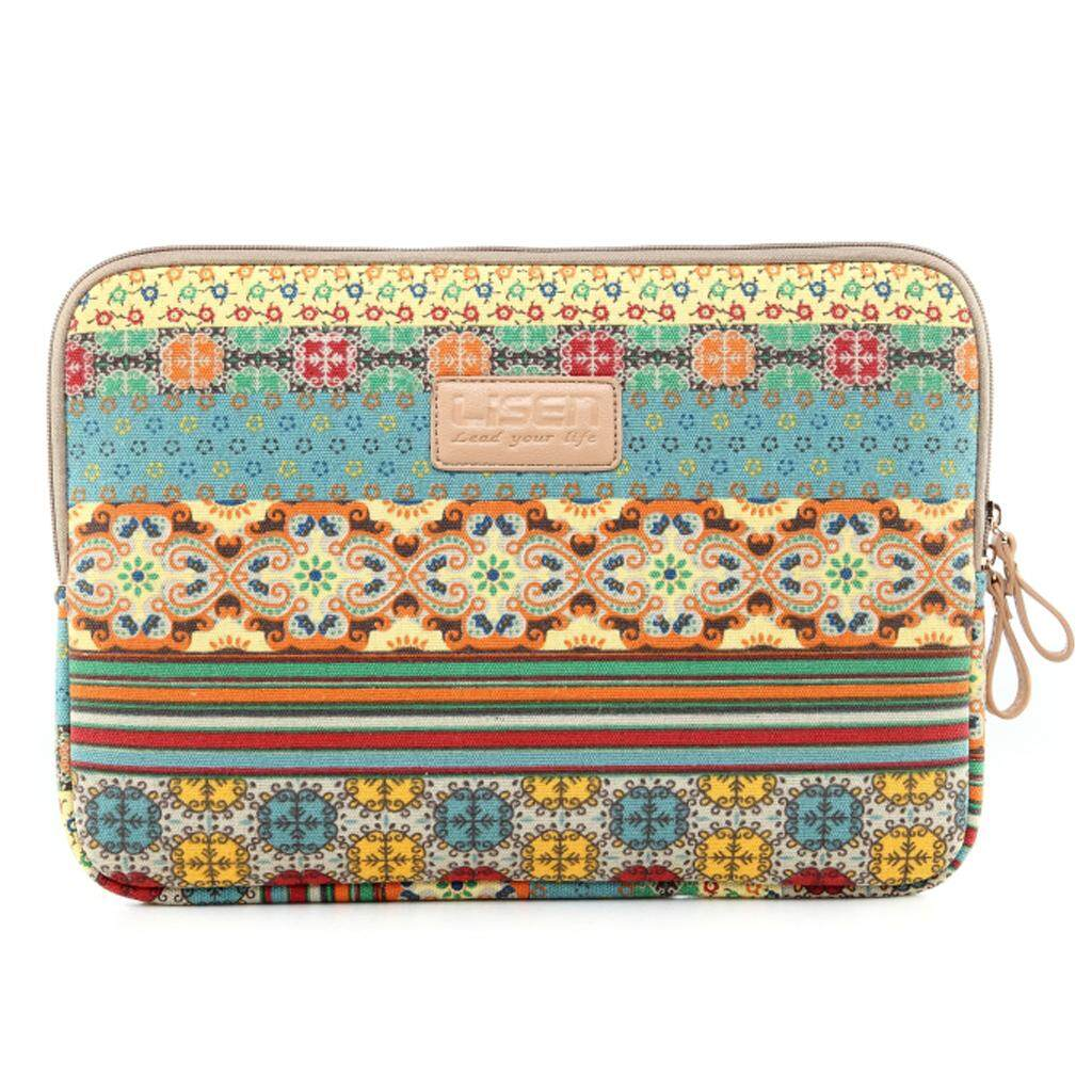 MagiDeal Bohemia Laptop Sleeve Case Bag Pouch For 15.6