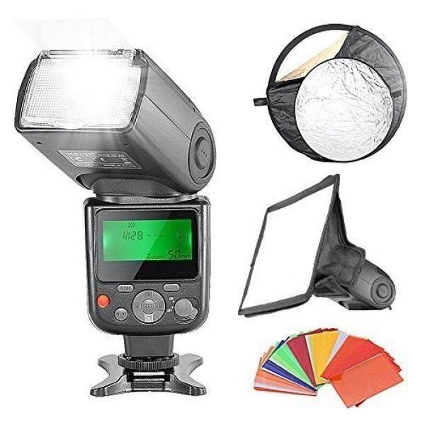 Neewer Professional E-TTL Flash Reflector Kit for Canon Rebel T5i T4i T3i T3 T2i T1i SL1, EOS 700D 650D 600D 1100D 550D 500D 100D 6D, 1Ds Mark III, 1Ds Mark II, 5D Mark III, 5D Mark II, 1D Mark IV, 1D Mark III and All Other Canon DSLR Cameras, includ