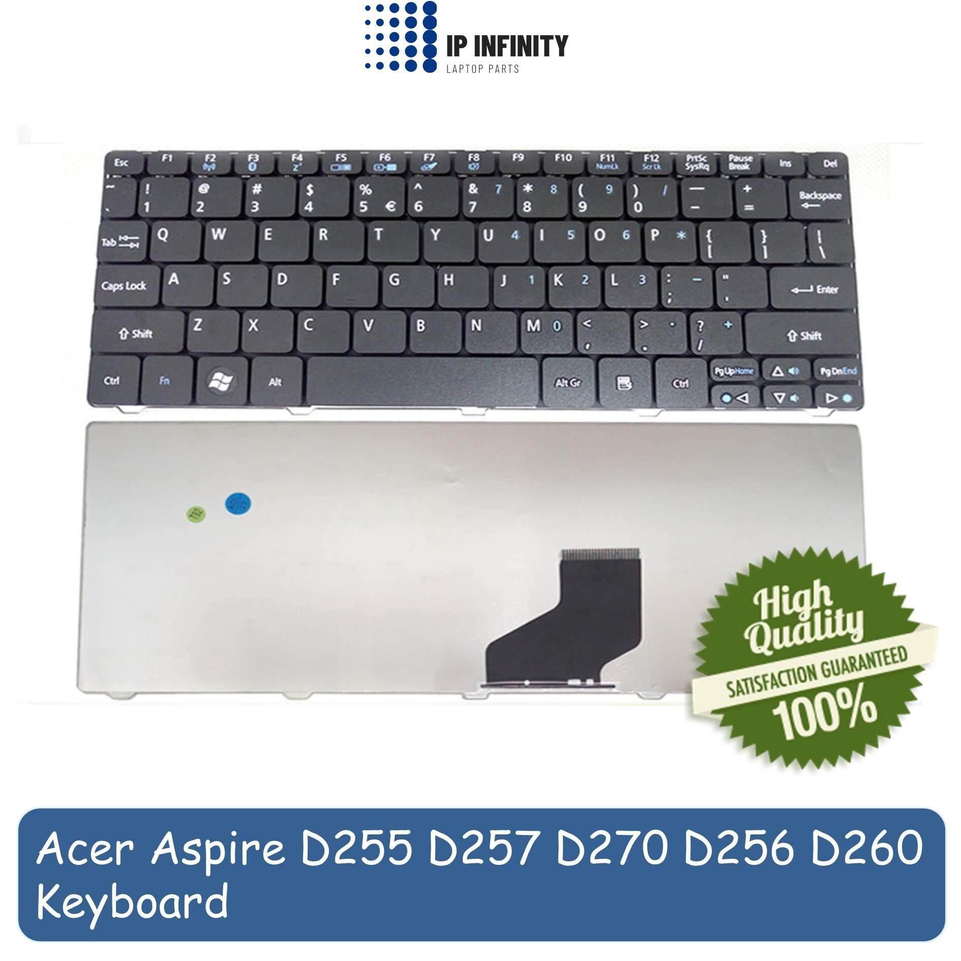 Acer Keyboard Notebook Aspire One D260 Hitam Daftar Update Harga Laptop 721 722 753 Series 532 D255 D255e D257 D270