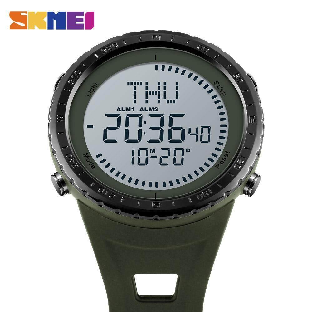 ... 2018 Jam Skmei Pria Jam Digital Pria Outdoor Tahan Air Countdown Kompas Kronograf Olahraga Watch Man ...