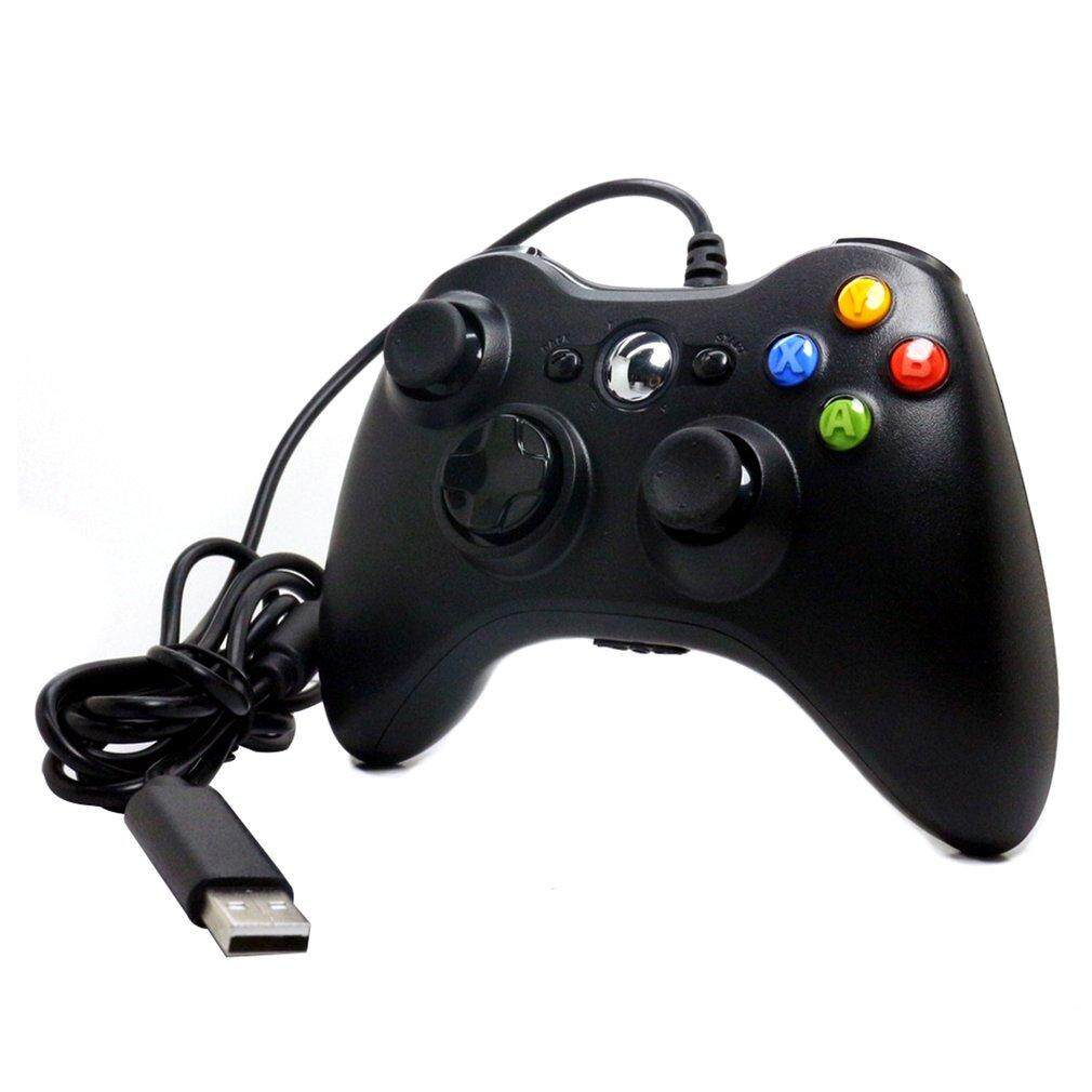 GOFT Gamepad For Microsoft For Xbox 360 USB Wired Controller Ergonomic Joypad black