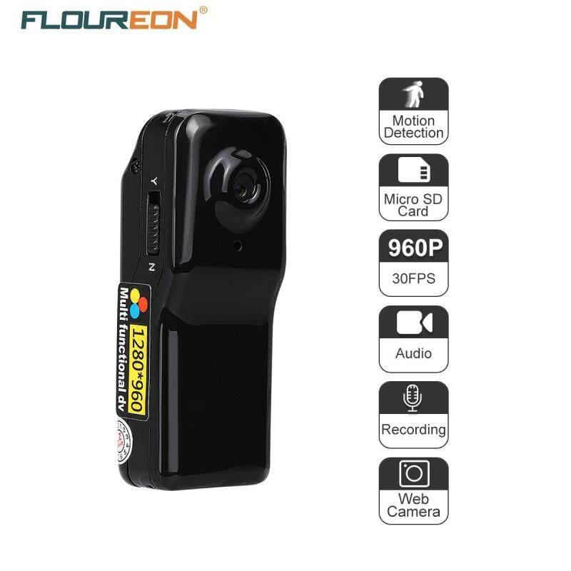 Mua Máy ẢNH Mini DV FLOUREON 1.3 Mega Pixels HD DVR Thể Thao Video/Âm Thanh/Chụp Phát Hiện Chuyển Động Ghi Âm MÁY TÍNH Web camera Đen