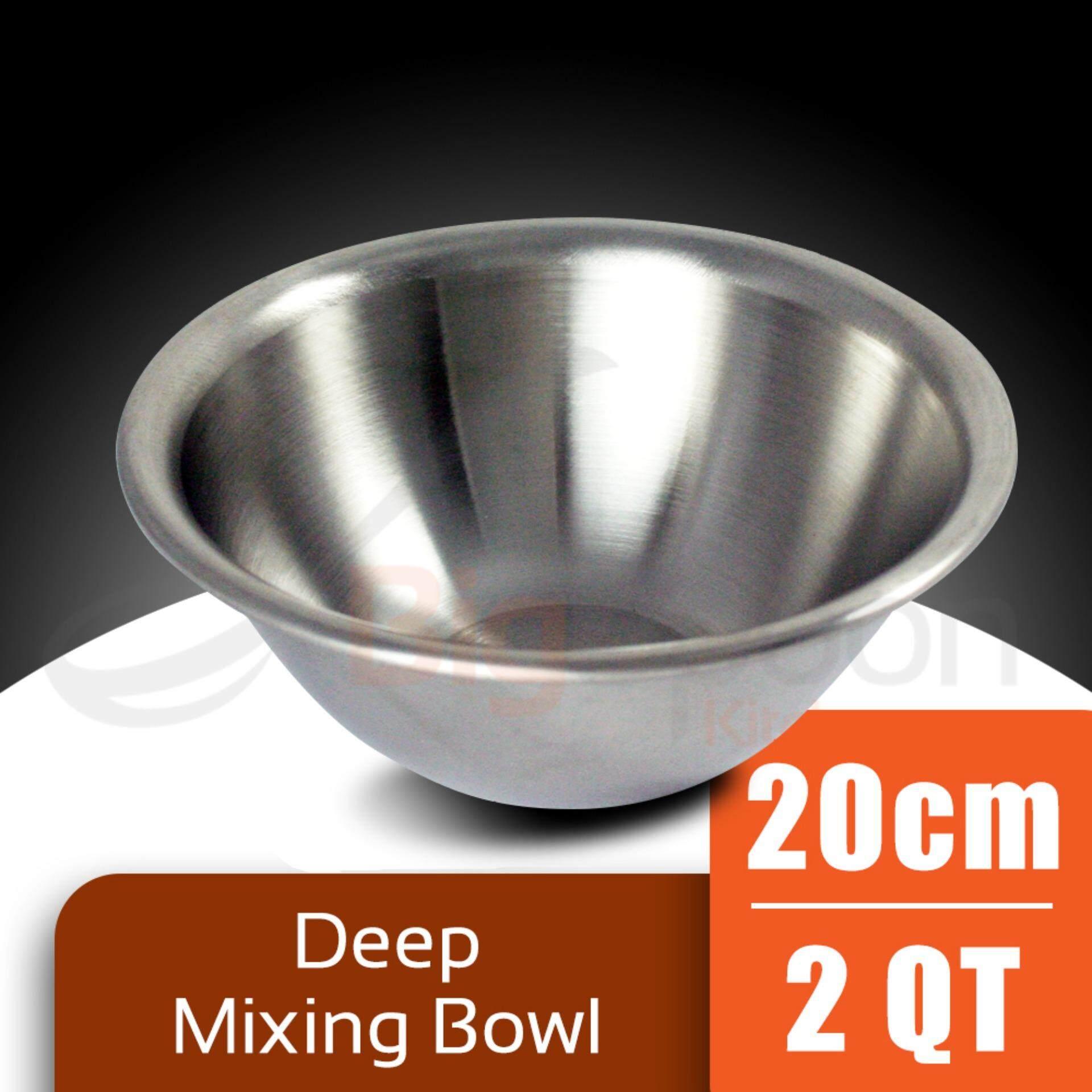 Deep Mixing Bowl S/Steel - 20cm