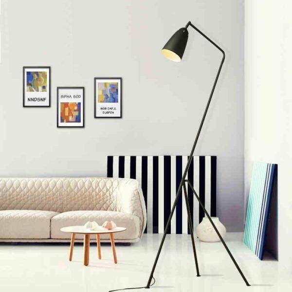 Designer Creative Iron Gubi Grasshopper Shake Floor Lamp Loft Industrial Standing Lamp Hotel Bedroom Study Living Room Light