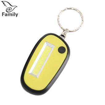 Harga preferensial BigFamily 36V Torch LED Lamp Ring Key Chain Keyring Glowing Sturdy Durable beli sekarang - Hanya Rp45.300