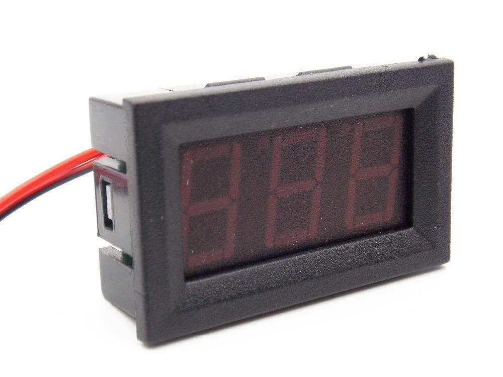 4.5-30V DC Car Motor Red LED Digital Voltmeter Gauge Volt Voltage Panel Meter