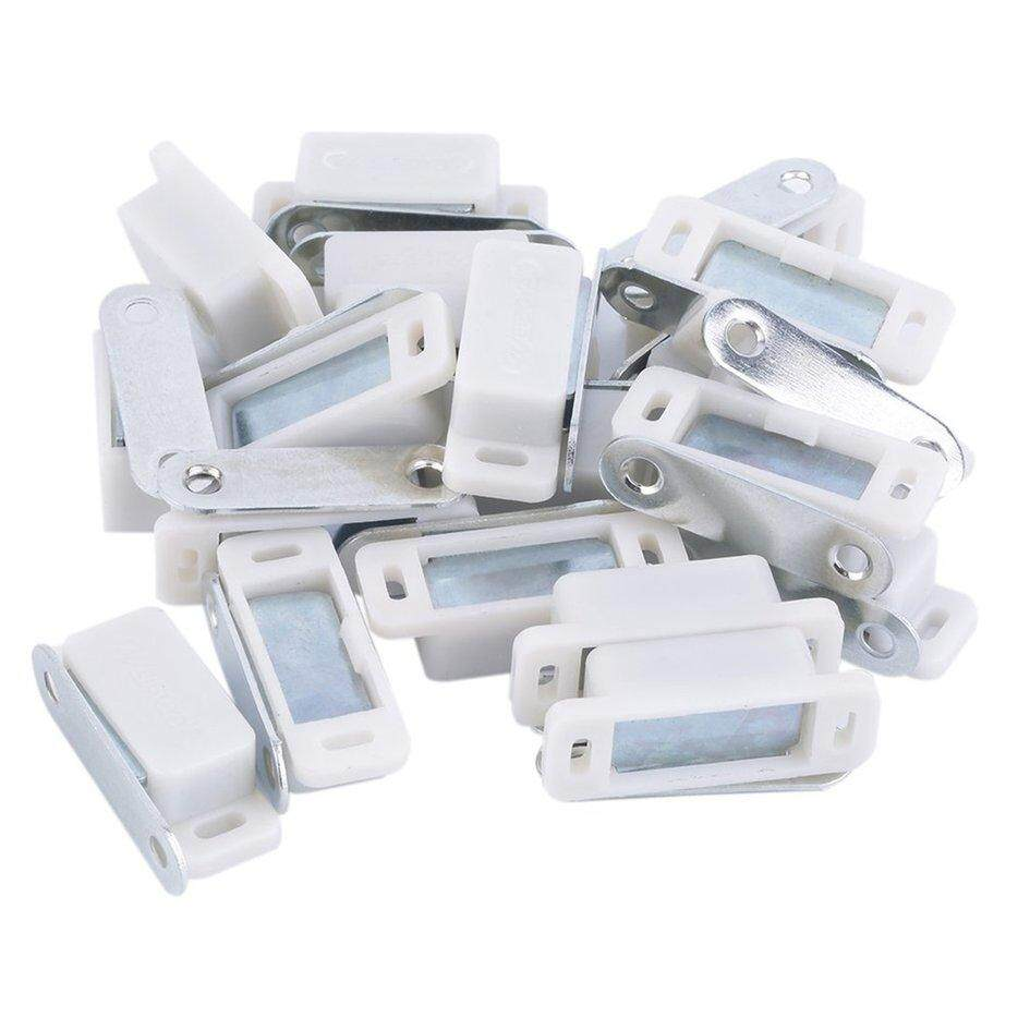 Oh 20 X Heavy Duty Magnetic Cupboard Door Catch Strong Door Cabinet Latch White By Ohbuybuybuy.