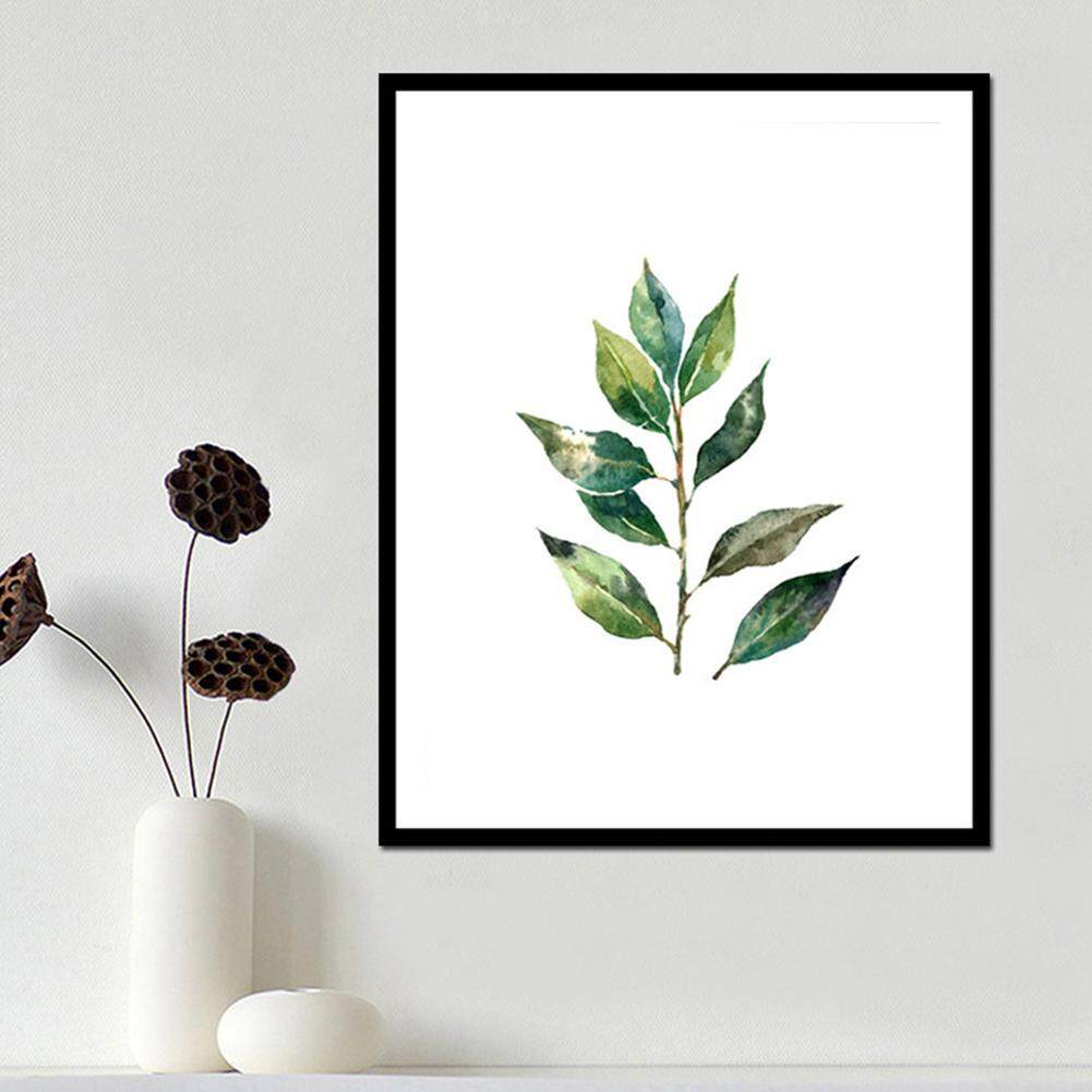 2662e62c1f18 blackhorse Simple Fashion Turtle Leaf Tropical Leaves Series Printing  Hanging Picture Core Home Decoration -3 ...