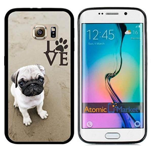 Sarung Telepn Seluler Pug Cinta dengan Kaki untuk Samsung Galaxy S6 I9700 Case Cover-Intl