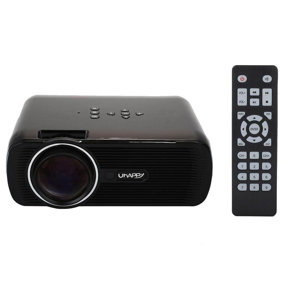 Grand Store projector U80 Full HD 1000LM Mini Home Office Multimedia LED Video Projector VGA USB AV SD - intl
