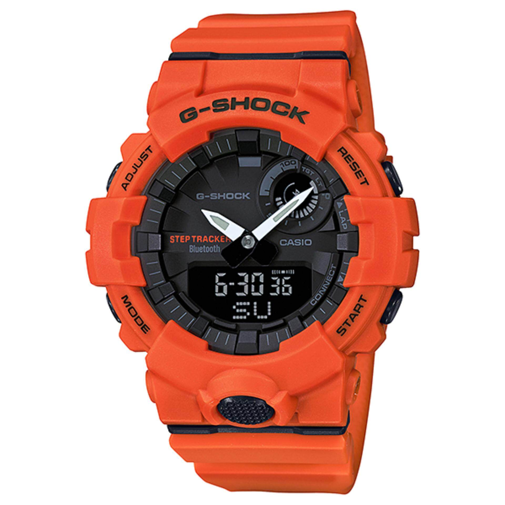 Features Casio G Shock Mini Pink Resin Strap Watch Gma S120mf 4a Dan 7a2 Mens Red Bluetooth Gba 800