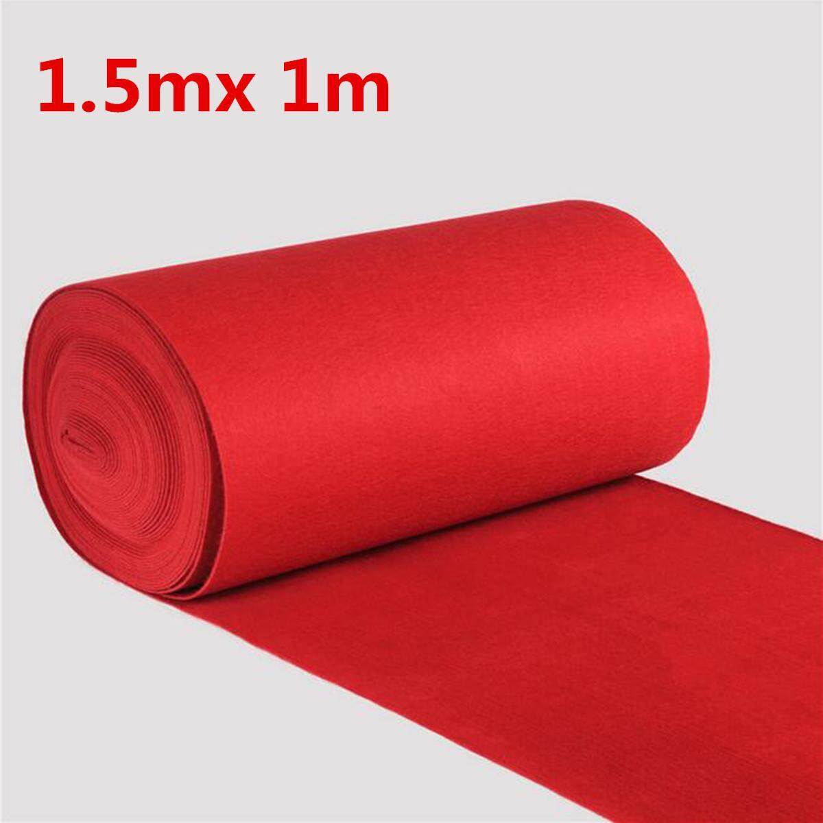 4 Sizes Celebrity Floor Runner Red Carpet Party Wedding Disposable Scene Decoration0.85mm