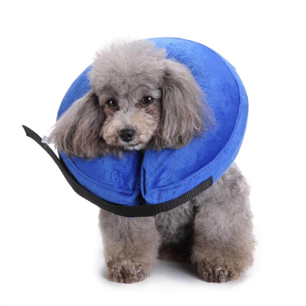 protective E-Collar Dog and Cats Head Cone Soft Recovery Collar #L