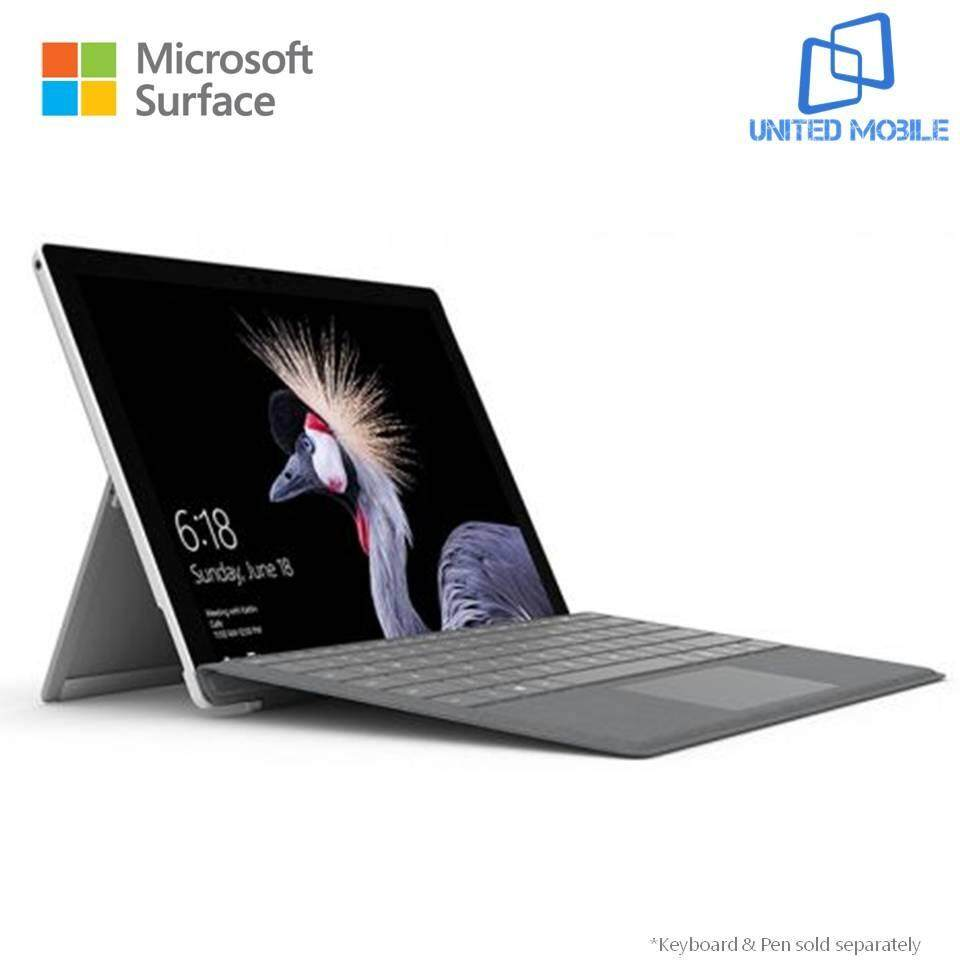 Microsoft New Surface Pro - 128GB / Intel Core i5 - 8GB RAM + Signature Type Cover (Platinum) Malaysia