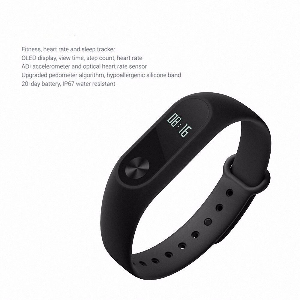 Bluetooth Smart Band M2 Heart Rate Monitor Waterproof IP67 Message/Call  Reminder Health Fitness Tracker Wristband Smart Bracelet for Android iOS