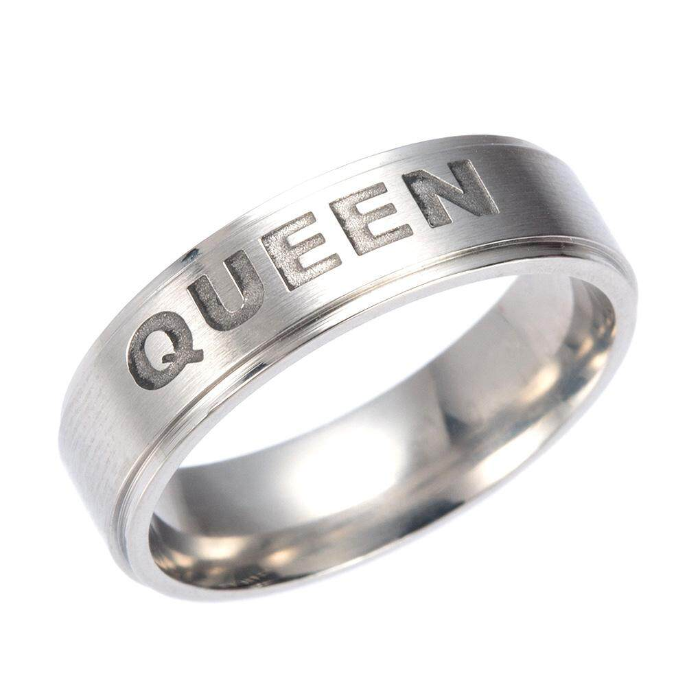 BZY Romantic King/Queen Ring for Lovers Couple Rings Fashion Gifts H02