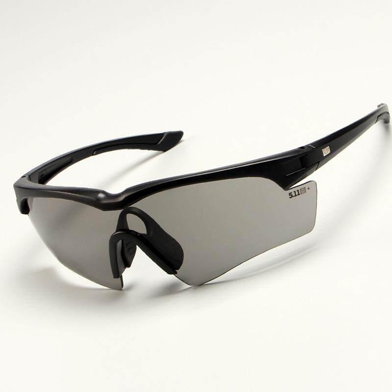 Kacamata Tentara Perlindungan Kacamata Militer Paintball Kacamata Menembak Taktis TR90 Kacamata Hitam Polaroid Pria-Intl