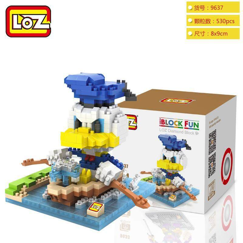 LOZ DIY Donald Duck Nanoblock Puzzle 3